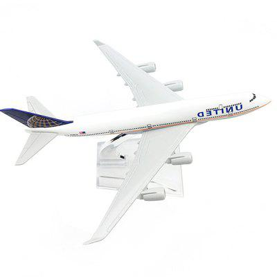 Highly Simulated Alloy Airplane Model Toy