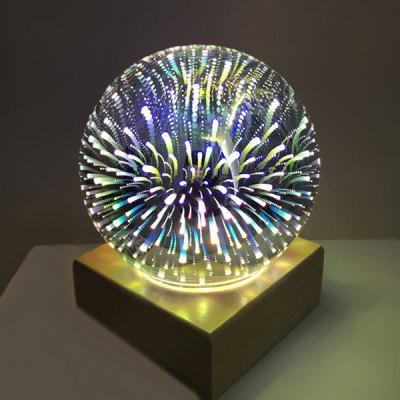 USB Rechargeable Colorful Sphere Lamp