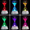 Diamond Hourglass USB Charge Night Light - WHITE