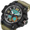 PANARS 8010 Male Digital Watch with Plastic Band - KHAKI