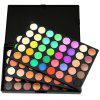 POPFEEL 120 Color Matte Pearl Three-layer Eyeshadow Compact - MULTI-A