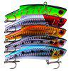 PRO BEROS Classic Fishing Lure Fishing Bait 5 pezzi - MULTI COLORI