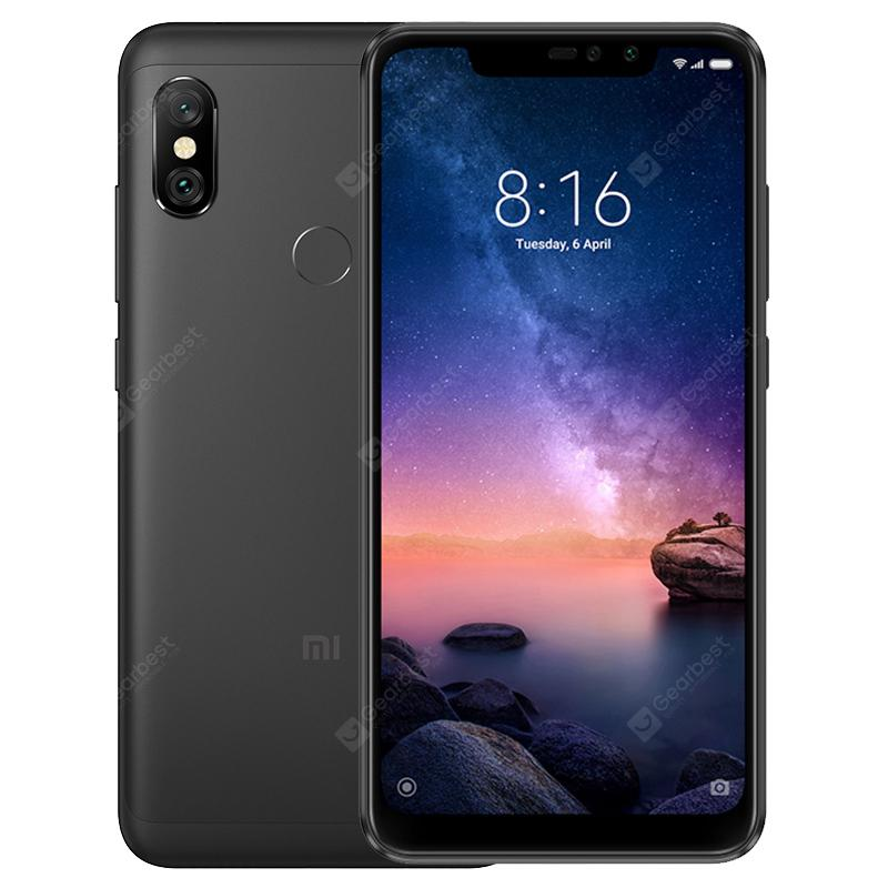 Xiaomi Redmi Note 6 Pro 6.26 inch 4G Phablet Global Version - BLACK 4+64go