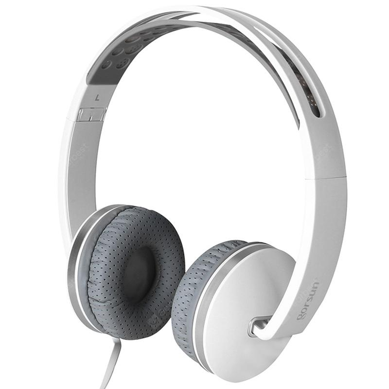 $10.41 Coupon for White Gorsun GS-785 Wired Foldable Music Headphone - Coupon Codes