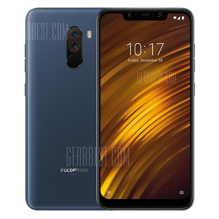 Xiaomi Pocophone F1 6.18 inch 4G Phablet Global Version - SLATE BLUE 6+128GB