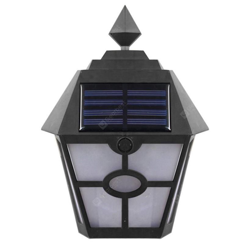 BRELONG BG - 054 Solar Flame Light for Outdoor Use - BLACK