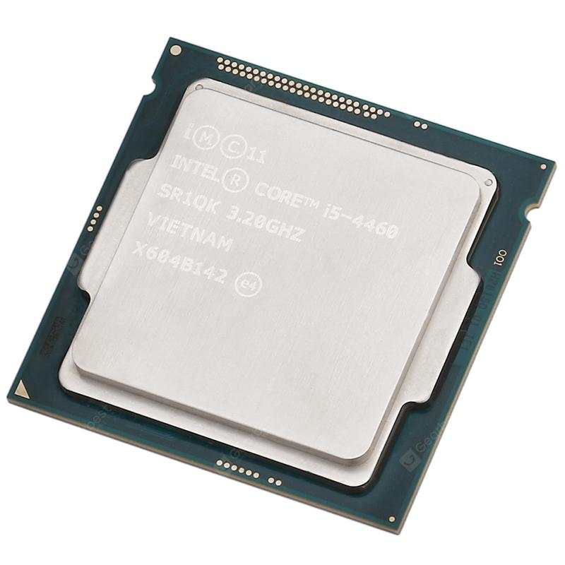 Intel Core i5 4460 CPU Quad Core 4 Thread / 32GHz LGA1150 - SILVER