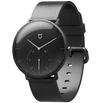 Leather Replacement Watch Strap for Xiaomi Mijia Smartwatch with Spring Bar