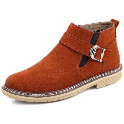Men Fashion Warm Comfortable Leisure Casual Leather Boots