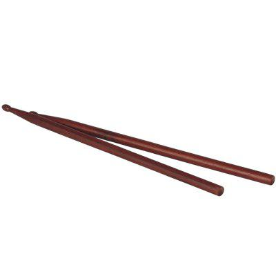 Pair of Mahogany Drum Sticks Percussion Instrument Accessories