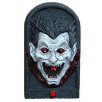 Horrific Halloween Flashing Tricking Doorbell for Ghost House KTV Party Prop
