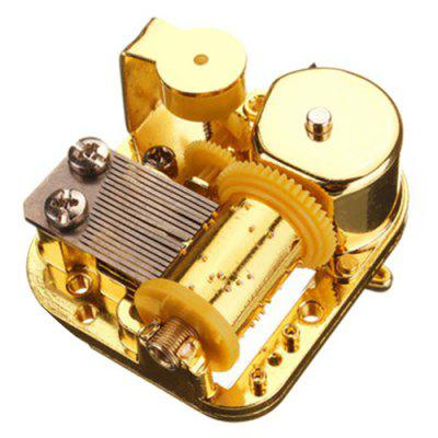 Mechanical DIY Windup Music Box Movement with Screws Key