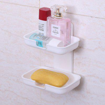 Nail-free Double Layer Soap Dish Holder for Bathroom Kitchen (Gearbest) Lowell Buy Ad