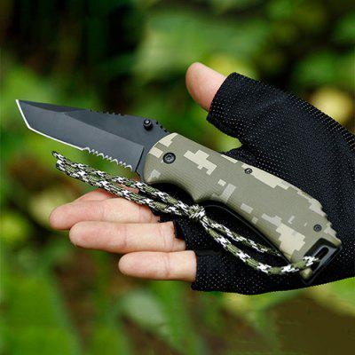 Jumper Tactical High Hardness Folding Knife