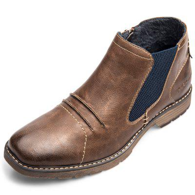XPER Warm Comfortable Leisure High-top Slip-on Boots