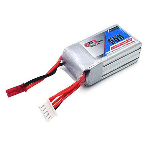 GAONENG 14.8V 550MAH 80C LiPo Battery with JST Plug for RC Drone DIY Accessory