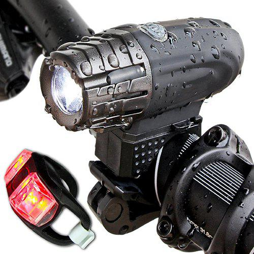 USB Rechargeable Bike Light Bicycle Headlight Taillight - $17.35 Free Shipping|GearBest.com