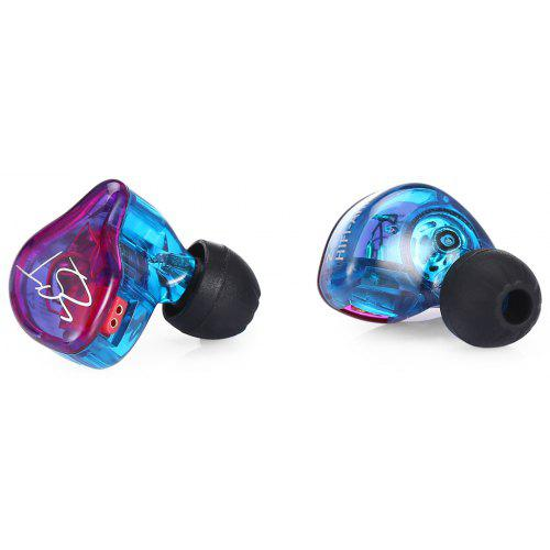 KZ ZST Wired On-cord Control In Ear Earphones - MULTI WITHOUT ON-CORD CONTROL