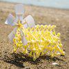 Walkable Wind Power Beast DIY Assemble Toys - CORNSILK