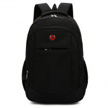 Concise Business Leisure Cotton Linen Backpack for Men