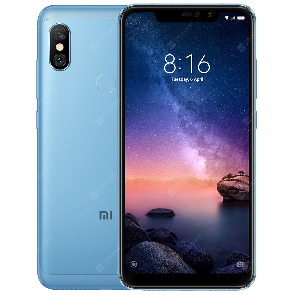 Xiaomi Redmi Note 6 Pro 3GB RAM 4G Phablet Global Version - DENIM BLUE - 3+32GB