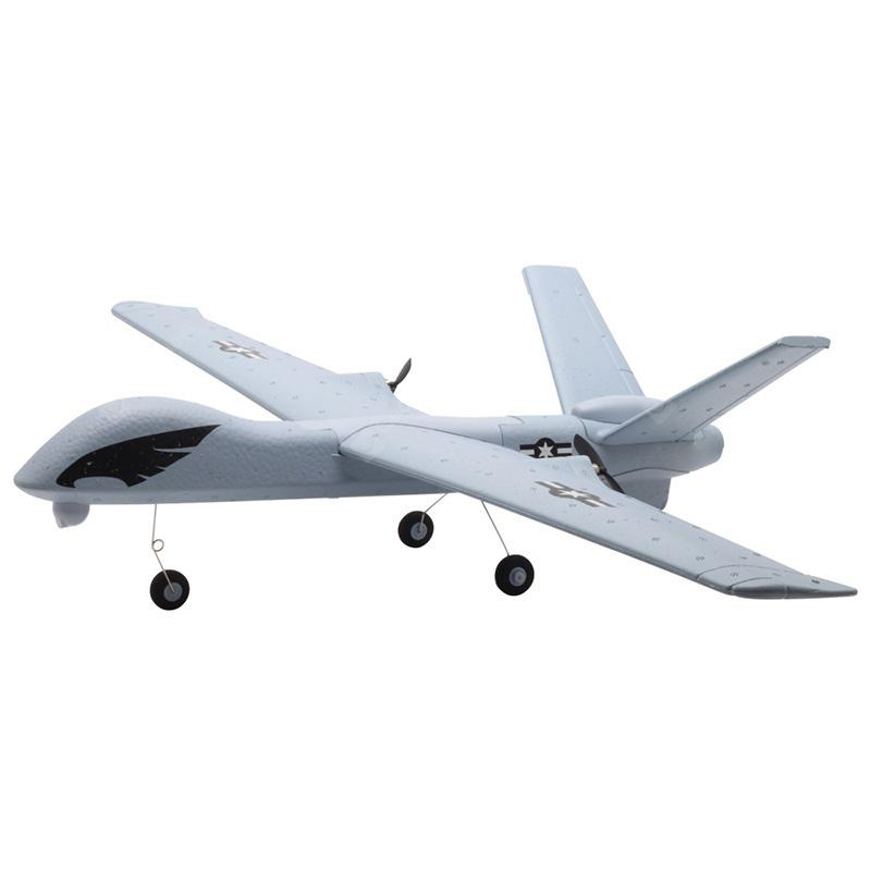 Z51 2.4G 2CH EPP DIY Planador RC Avião RC - LIGHT SLATE GREY
