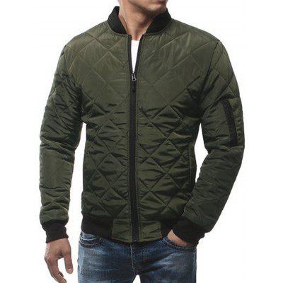 Men's Fashion Warm Cotton Bomber Jacket