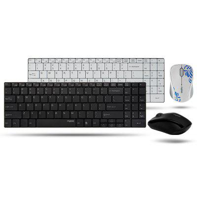 Rapoo 9060 Wireless Keyboard and Mouse Set