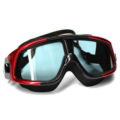 Copozz Super Large Frame Electroplating Swim Eyewear