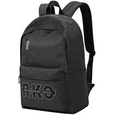 skybow canvas letters printed backpack for men reviews gearbest com