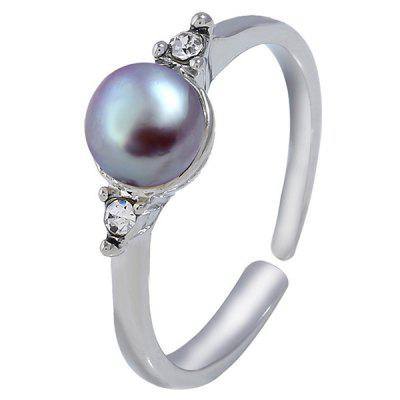 M162 Exquisite Simple Style Pearl Ring