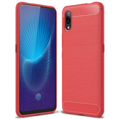 Custodia in nappa TPU spazzolata in fibra di carbonio Naxtop per Vivo NEX S / Vivo NEX 4G Phablet Global Version