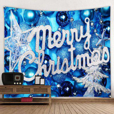 Merry Christmas Printed Wall Hanging Tapestry