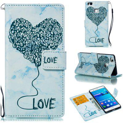Marbled Mobile Phone Protective Case for HUAWEI P9 Lite