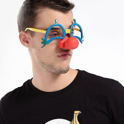 Red Nose Party Glasses for Circus Performance