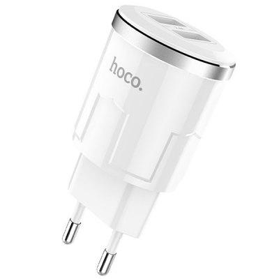 HOCO C38A Dual USB Port Power Adapter Charger