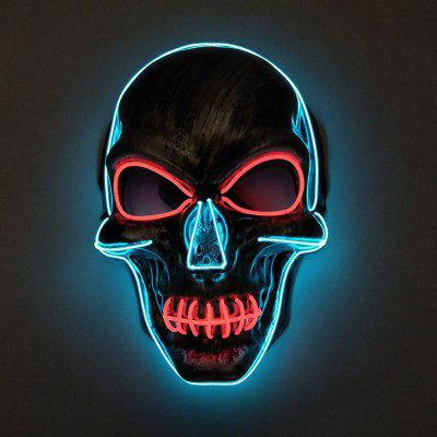 BRELONG Creative Glowing Skull Mask