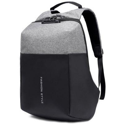 Multi-function Fashion Rechargeable Waterproof Backpack