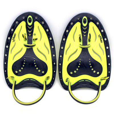 COPOZZ Professional Swimming Paddle Webbed Flippers 2pcs