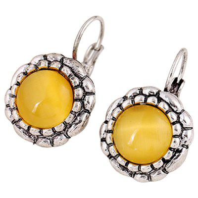 Fashion Sun Flower Design Earrings for Women