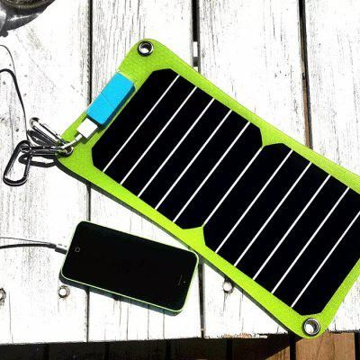 Folding Solar Mobile Sun Power Charger with Steady Voltage Output for Cellphone