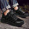 Cushioned Anti-slip Outdoor Sports Shoes for Men - BLACK