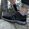 Stylish Winter Outdoor Activities Boots for Men - BLACK