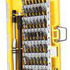 60 in 1 Multifunctional Screwdriver Set Tool Box Yellow - YELLOW