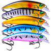 PRO BEROS Outdoor Lure Plastic Artificial Fishing Bait 5pcs - MULTI