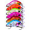 PRO BEROS Lure Plastic Art Fishing Sea Fishing Bait 6pcs - MULTICOLOR