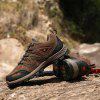 Men Stylish Comfortable Classic Durable Hiking Shoes - BROWN