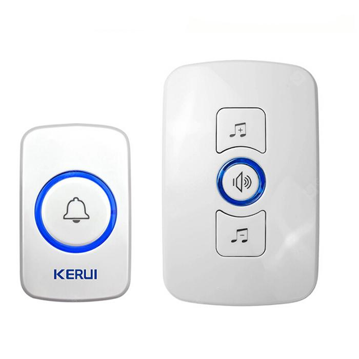 hentede M525 Wireless Doorbell med transmitter Music Door Bell Alarm