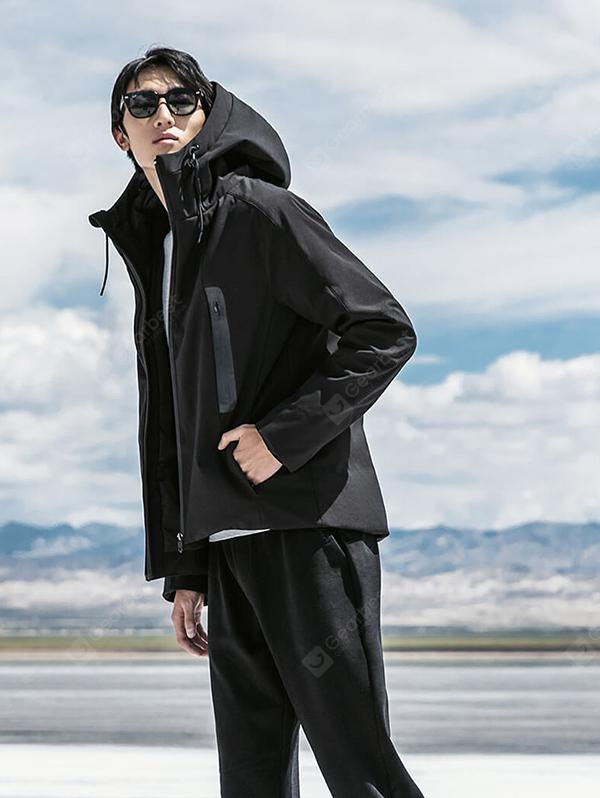 90fen Stylish Hooded Down Jacket from Xiaomi youpin