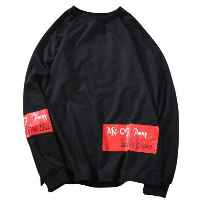 chaolongjushang Stylish Comfortable Round Neck Sweatshirt